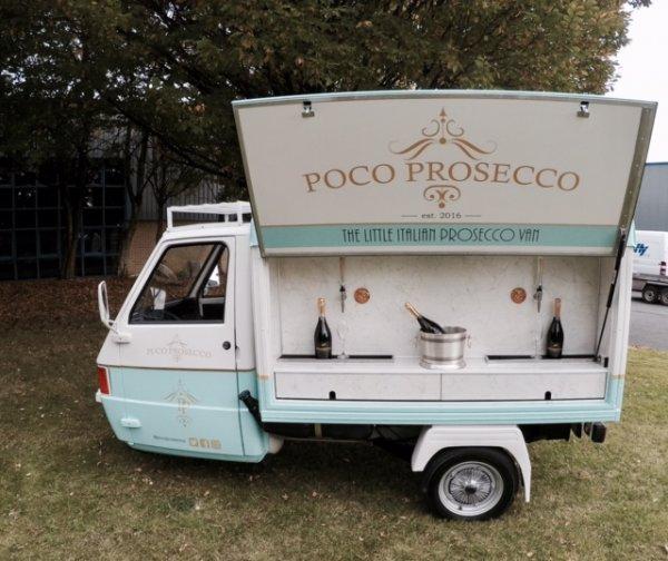 Prosecco Cart - Piaggio