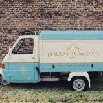 Mobile Prosecco Bar - Piaggio Ape