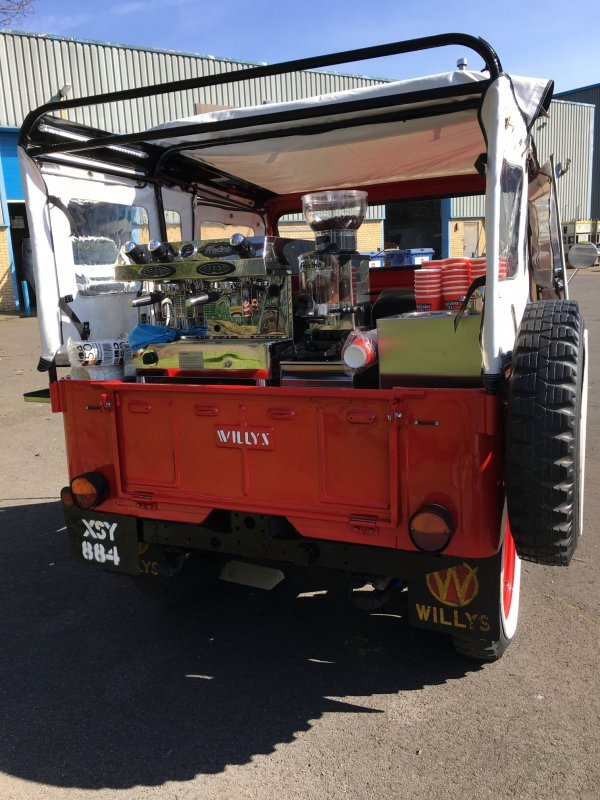 Bespoke Coffee Vehicle Conversion