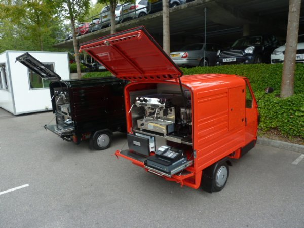 Coffee Cart - Mobile Coffee - Ape 50