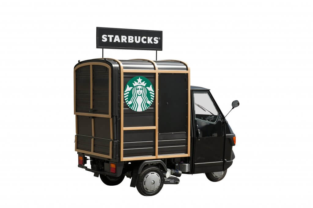 Coffee Cart - Starbucks Mobile Coffee