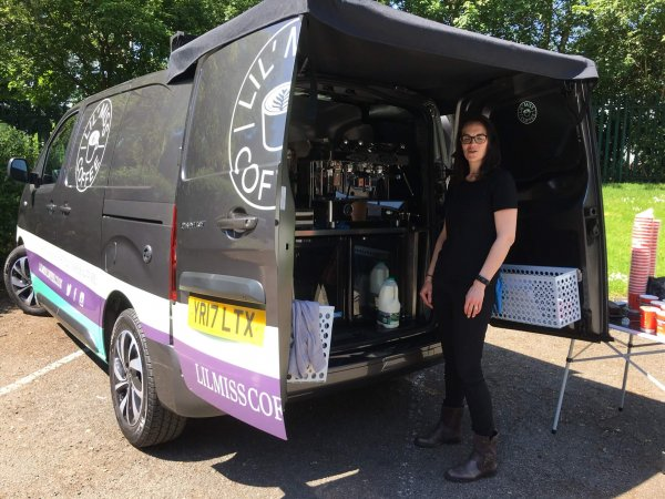 Mobile Coffee Van Conversion