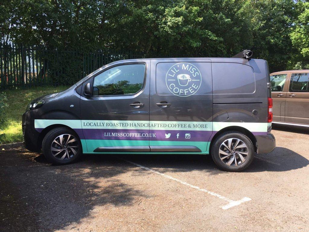 Mobile Coffee Van Conversion