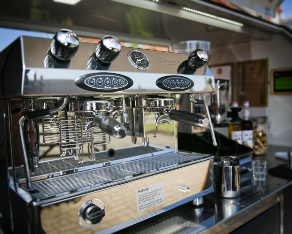 Fracino Coffee Machine - Mobile Coffee