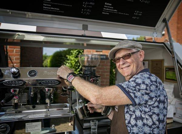 Mobile Coffee Cart - Piaggio Ape