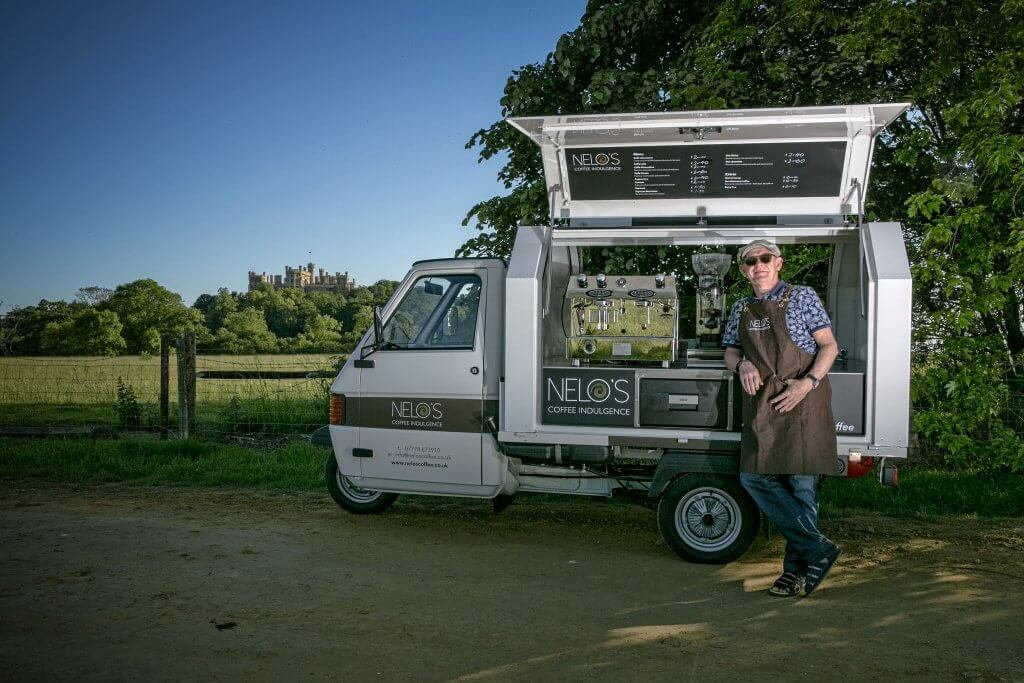 Mobile Coffee Cart - Piaggio Ape