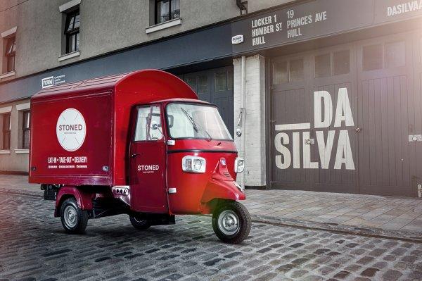 Ape Classic - Pizza Delivery Van