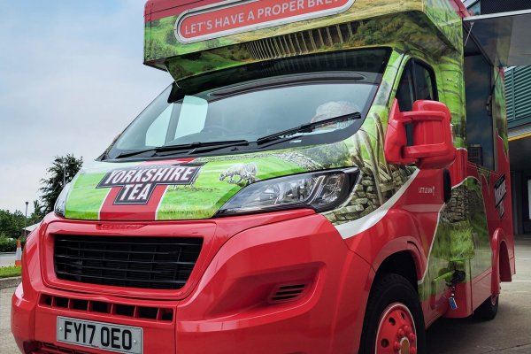 Mobile Catering Van - Yorkshire Tea 3