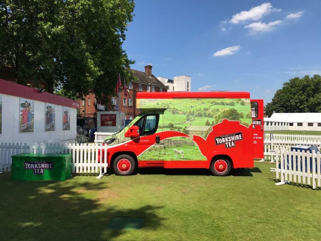 Yorkshire Tea Mobile Catering Van BG