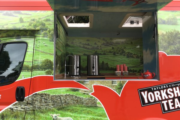 Mobile Catering Van - Yorkshire Tea 4