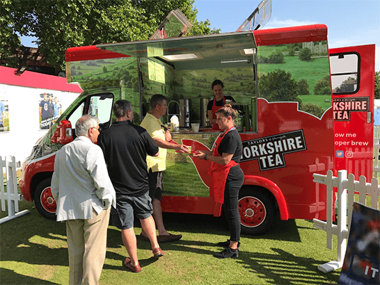Mobile Catering Vehicle - Yorkshire Tea