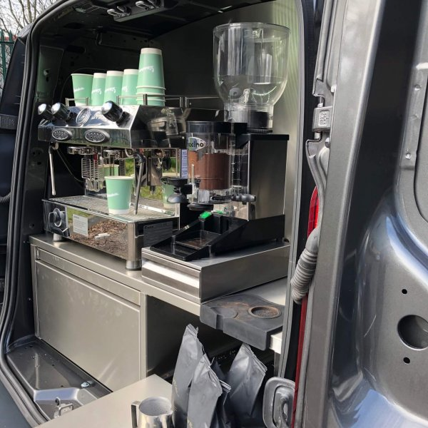 Coffee Machine - Mobile Coffee Vehicle