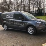 Ford Transit Mobile Coffee Vehicle