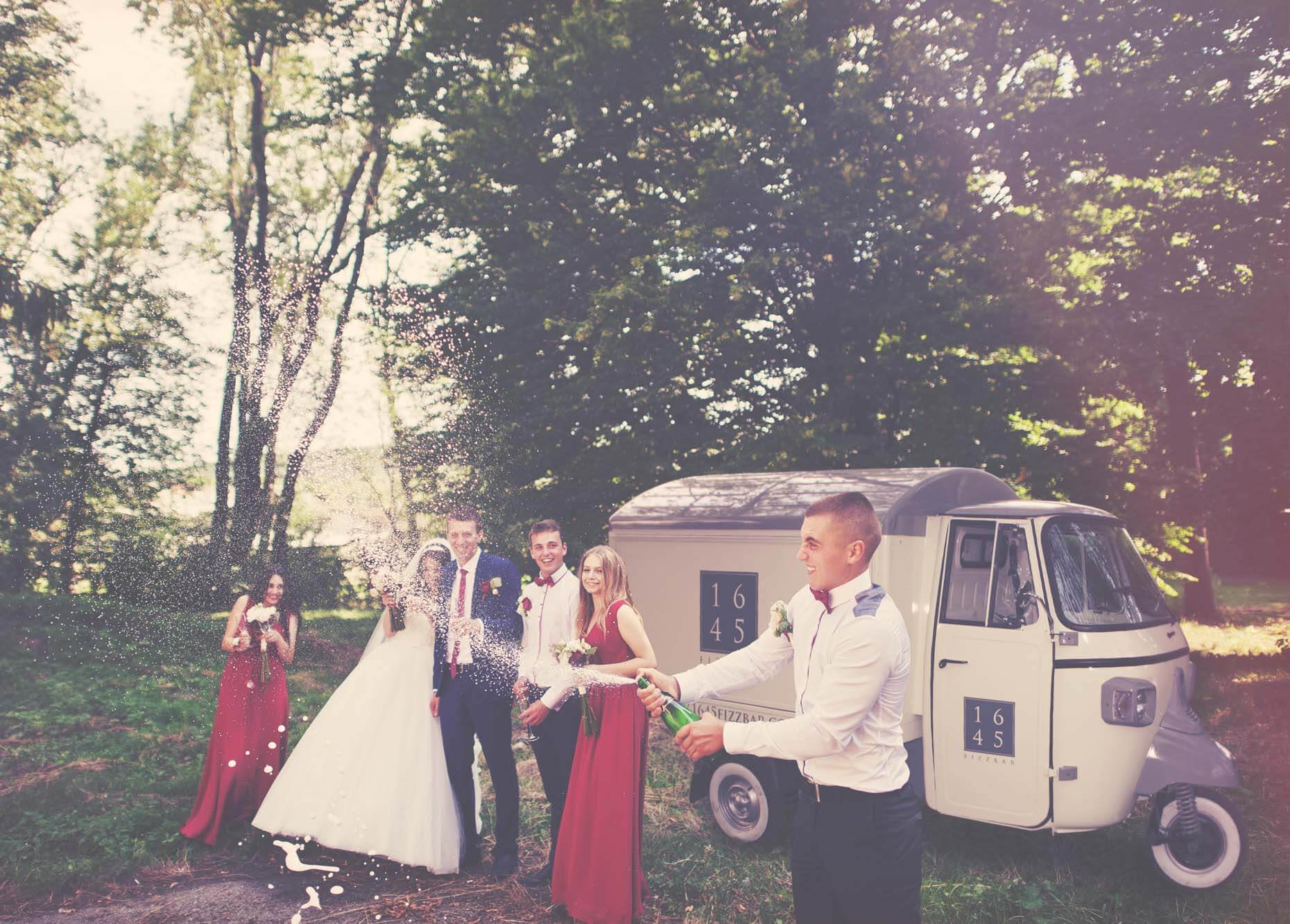 mobile bar and prosecco conversions