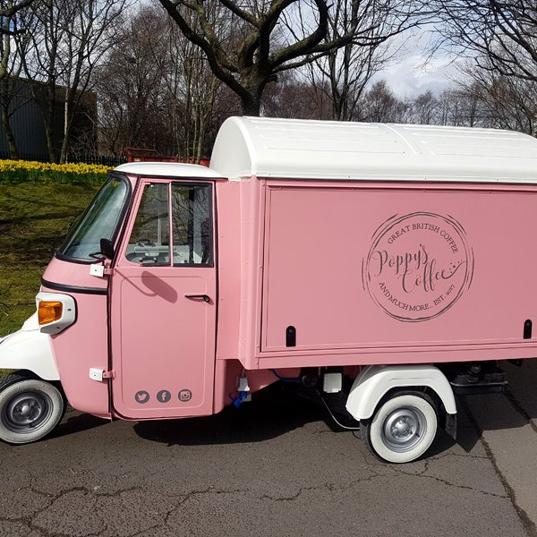 mobile catering coffee conversion