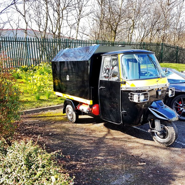 mobile catering conversion