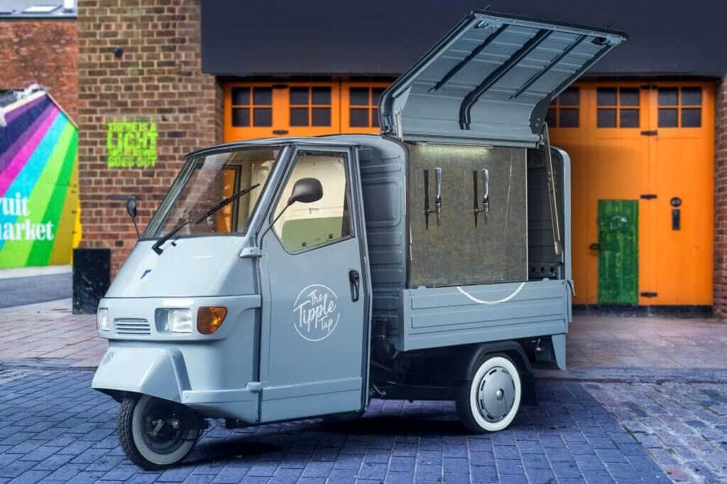 Classic Mercedes For Sale >> Mobile Bar For Sale | Piaggio Ape 50cc Gull Wing Conversions - The Big Coffee