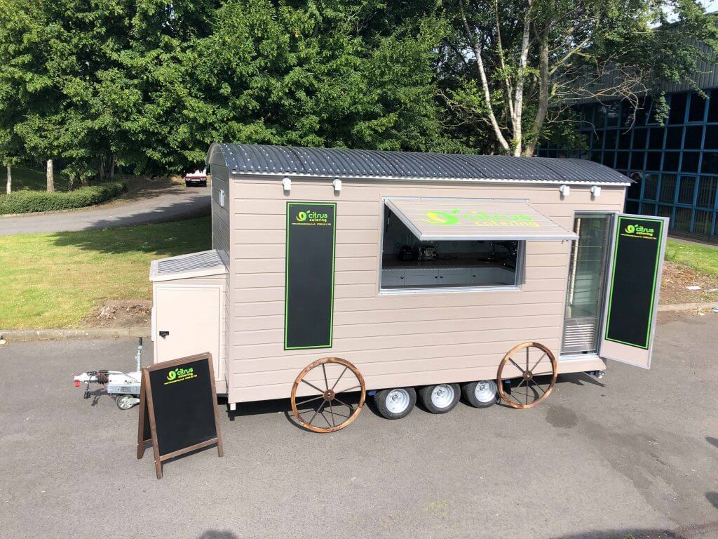 street food trailer conversions - citrus catering